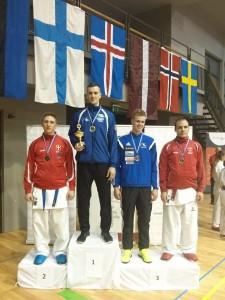 Põhjamaade MV 2015 +84kg poodium